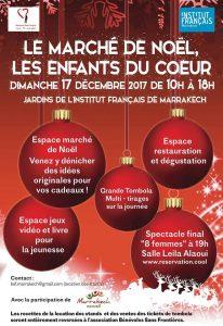 Le Marché De Noël, Les Enfants Du Coeur @ Institut Français de Marrakech